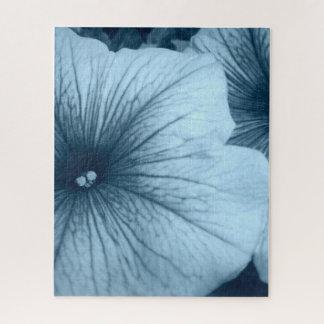 Quebra-cabeça Petúnias azuis