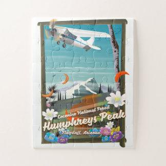 Quebra-cabeça Pico de Humphreys, pico de Humphreys, mastro,