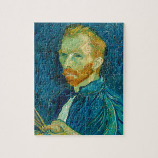 Quebra-cabeça Pintura 1889 do retrato de auto de Vincent van