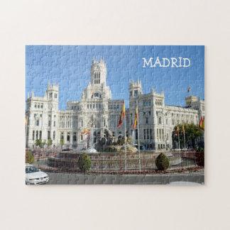 Quebra-cabeça Plaza de Cibeles, Madrid