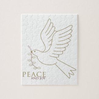 Quebra-cabeça Pomba da paz