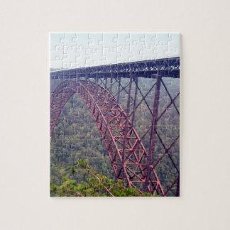 Quebra-cabeça Ponte de desfiladeiro de rio novo