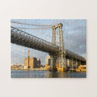 Quebra-cabeça Ponte New York de Manhatten.