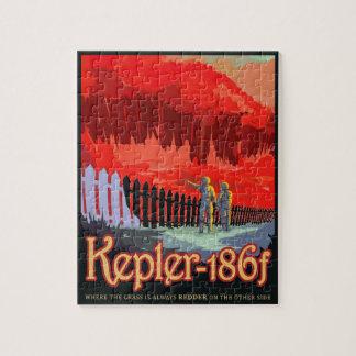 Quebra-cabeça Poster futuro de Sci Fi do viagem da NASA - Kepler