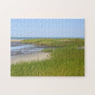 Quebra-cabeça Praia do oceano da baía de Cape Cod