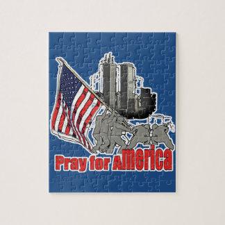 Quebra-cabeça Pray para América
