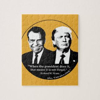 Quebra-cabeça Presidente nao ilegal
