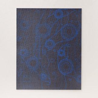 Quebra-cabeça Preto e azul