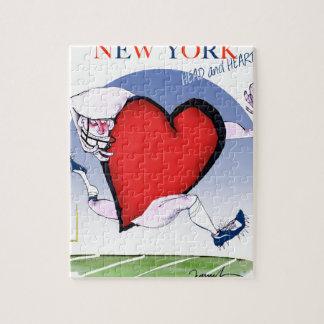 Quebra-cabeça Principais de New York e coração, fernandes tony
