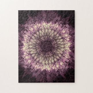 Quebra-cabeça Purple Mandala