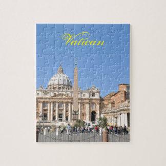 Quebra-cabeça Quadrado de San Pietro no vaticano, Roma, Italia
