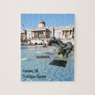 Quebra-cabeça Quadrado de Trafalgar em Londres, Reino Unido