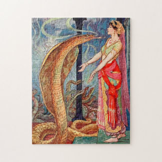 Quebra-cabeça Rainha dos cobras