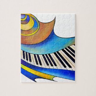 Quebra-cabeça Redemessia - piano espiral