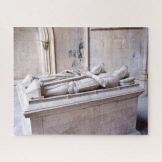 Quebra-cabeça Rei Duarte & túmulo Portugal da rainha Eleanor