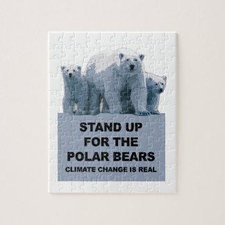 Quebra-cabeça Represente acima os ursos polares