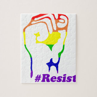 Quebra-cabeça #Resist