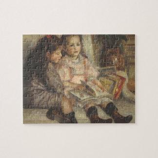 Quebra-cabeça Retrato de crianças de Caillebotte por Pierre