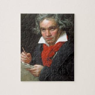 Quebra-cabeça Retrato do vintage do compositor, Ludwig von