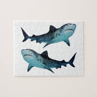Quebra-cabeça Reunião do tubarão