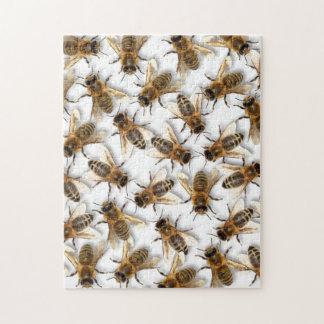 Quebra-cabeça Salvar a abelha! Salvar o mundo! Vive o design