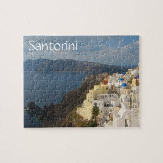 Quebra-cabeça Santorini na tarde Sun