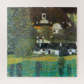 Quebra-cabeça Schloss Kammer no Attersee II por Gustavo Klimt