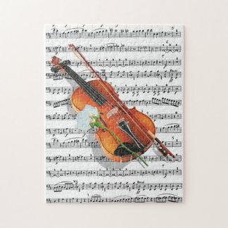 Quebra-cabeça Se a música for a comida do amor.