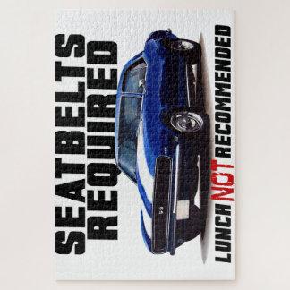 Quebra-cabeça Seatbelts exigidos para o camaro
