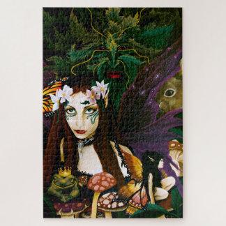 Quebra-cabeça Senhora da floresta