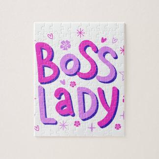 Quebra-cabeça Senhora do chefe