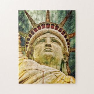 Quebra-cabeça Senhora Liberdade, estátua da liberdade