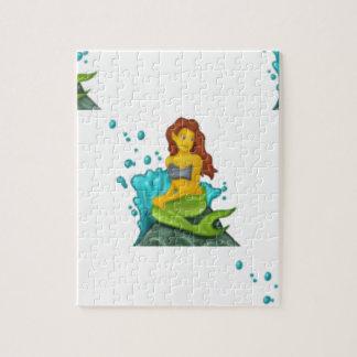 Quebra-cabeça sereia do emoji