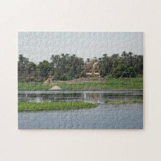 Quebra-cabeça Serra de vaivém de Nile do rio