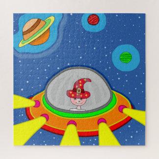 Quebra-cabeça Simon e a nave espacial
