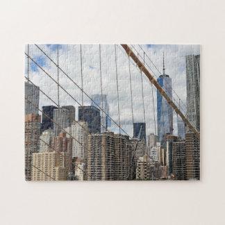 Quebra-cabeça Skyline. de New York
