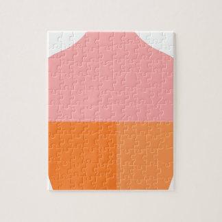 Quebra-cabeça Sorvete cor-de-rosa