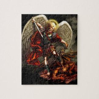 Quebra-cabeça St Michael o arcanjo