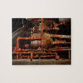 Quebra-cabeça Steampunk - sonhos de tubulação
