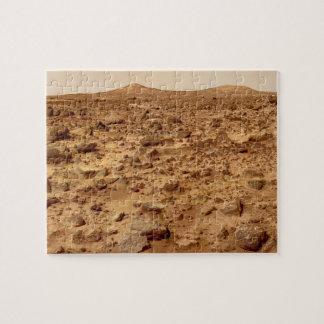 Quebra-cabeça Superfície rochosa do planeta Marte