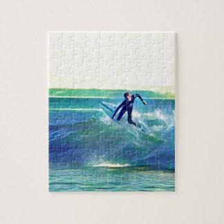 Quebra-cabeça Surfista