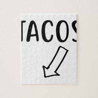 Quebra-cabeça Tacos
