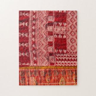 Quebra-cabeça Tapete vermelho no mercado
