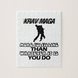Quebra-cabeça Tendendo o DESIGN de Krav Maga