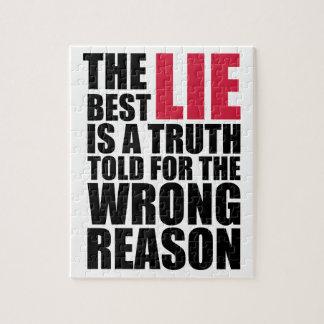Quebra-cabeça The Best Lie
