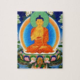 Quebra-cabeça Tibetano Thangka Prabhutaratna Buddha