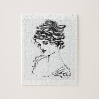 Quebra-cabeça Tinta de Nouveau da arte que tira Russell 1917