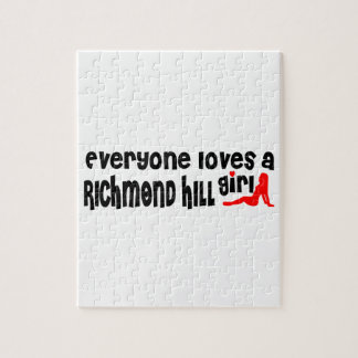 Quebra-cabeça Todos ama uma menina de Richmond