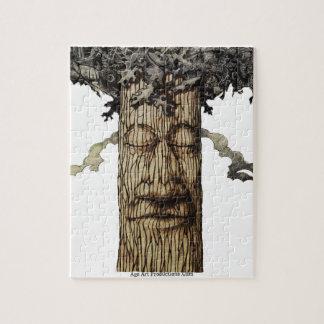 Quebra-cabeça Um cobrir poderoso da árvore