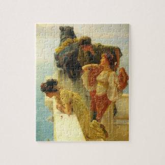 Quebra-cabeça Um Coign de vantajoso por Alma Tadema, arte do